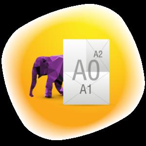 Друк великих розмірів (А2-А0)