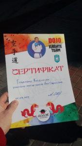 Грамоти, дипломи, сертифікати. Локальний майстер-клас від тренера з Грузії. Сертифікати всім діткам.