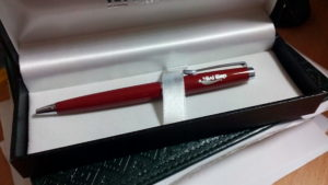 Ручки. Індивідуальні замовлення з лазерного гравіювання.