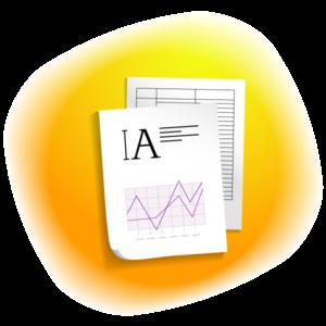 Набір тексту,таблиць,діаграм